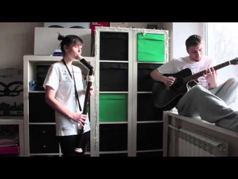 Bass Recorder & Guitar  - Morning mood (Nastya Maslova & Grisha)