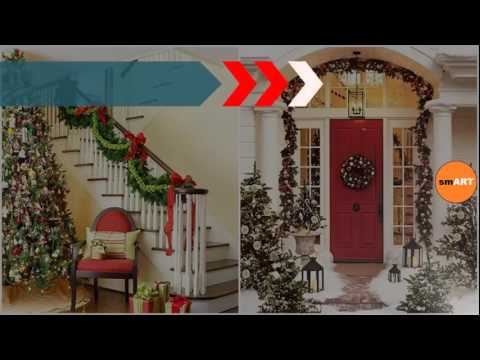 elegant christmas dcor indoor christmas decorations - Elegant Indoor Christmas Decorations