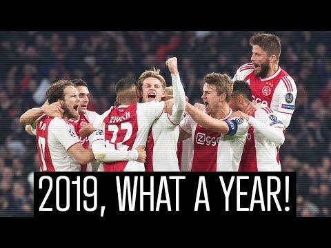 2019, You Were Amazing! ✖️✖️✖️   Ajax Media Jaarclip