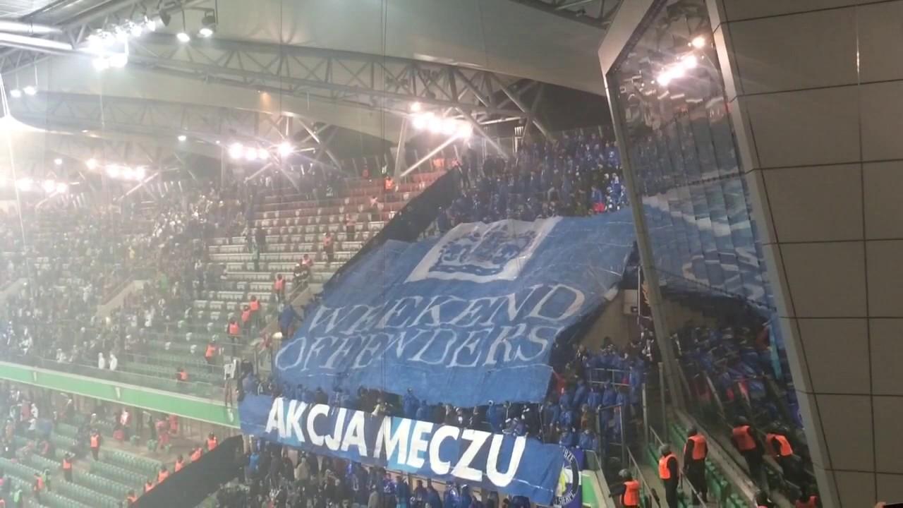 472f0884c Legia Warszawa - WISŁA PŁOCK (02.12.2016) doping i oprawa - YouTube