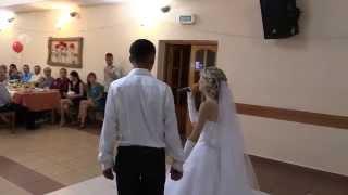 Невеста поёт для жениха.Я благодарю.