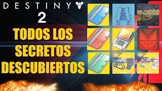 Destiny 2: Misterio Resuelto! Nave Exotica! Efectos Para Armas! Secretos de Hora Cero y Catalizador!