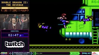 SGDQ 2018 Double Dragon II: The Revenge Speedrun by Sinister1 in 13:01