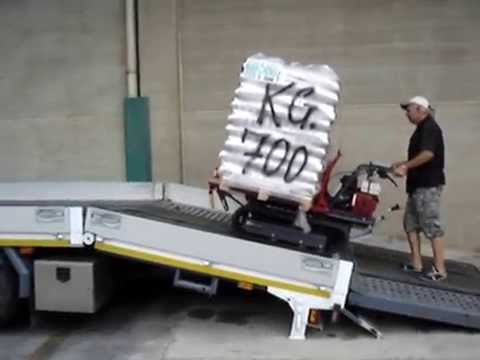 Motocarriola cingolata maruyama 500 kg honda nuova d for Grillo 507 usato
