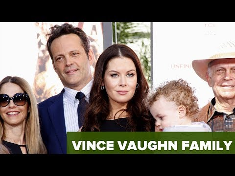 Vince Vaughn family