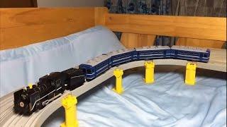 【改造】 プラレール 12系客車  4両(オハ、スハフ)作ってみた SL奥利根号・SLみなかみ号・ Takaratomy Plarail