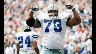 Larry Allen Career Highlights    Dallas Cowboys