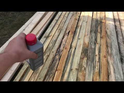 Как убрать черную плесень с дерева | Обзор антисептика Неомид (Neomid)  600