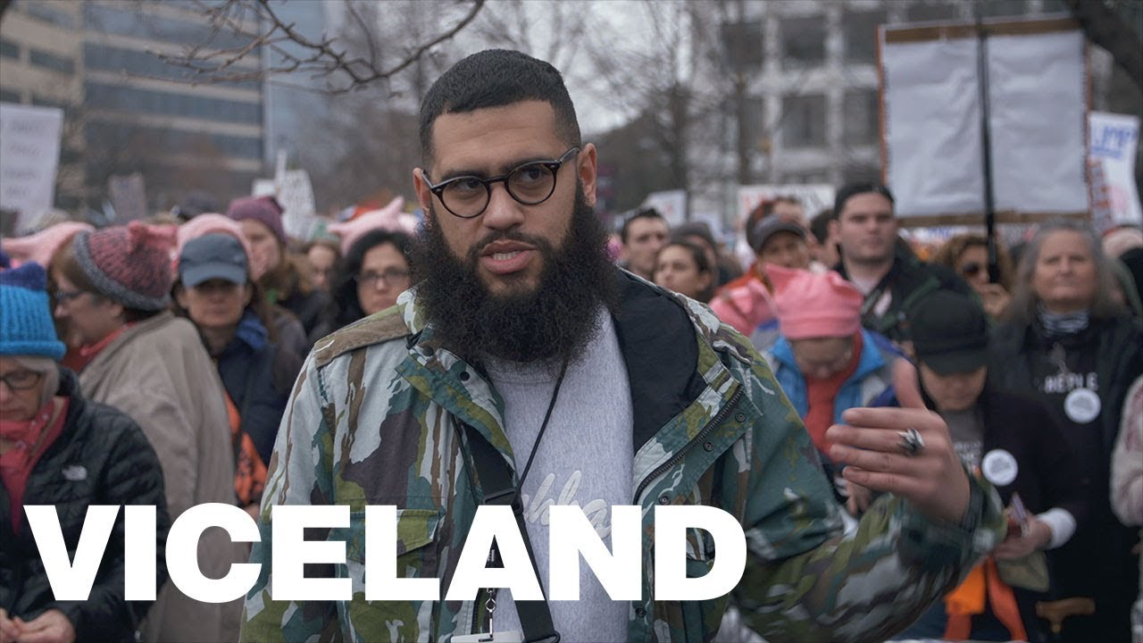 VICELAND At The Women's March: Jamali Maddix - YouTube