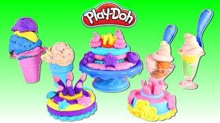 Fabrica de Helados y Pasteles Play Doh 🎂 Preparando Comidita Play Doh Con Amy Jo y Zumi thumbnail