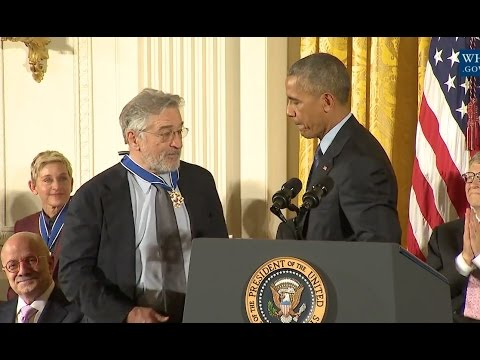 Robert De Niro Awarded Medal Of Freedom