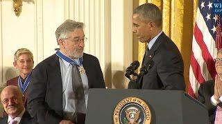 Robert De Niro Awarded Medal Of Freedom