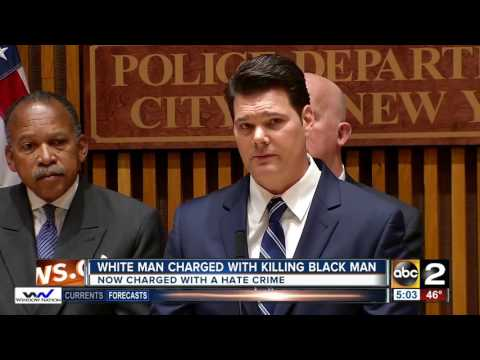 Baltimore man charged with murder as a hate crime in New York City fatal stabbing of a black man