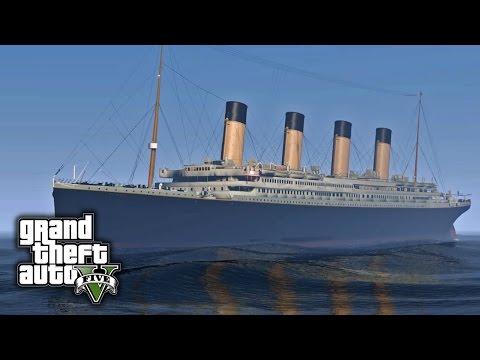 GTA V E38 - RMS Titanic Mod Showcase