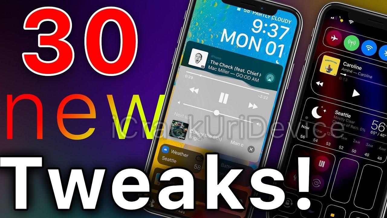 Top 30 iOS 12 Cydia Tweaks for iOS 12 1 2 Uncover Jailbreak
