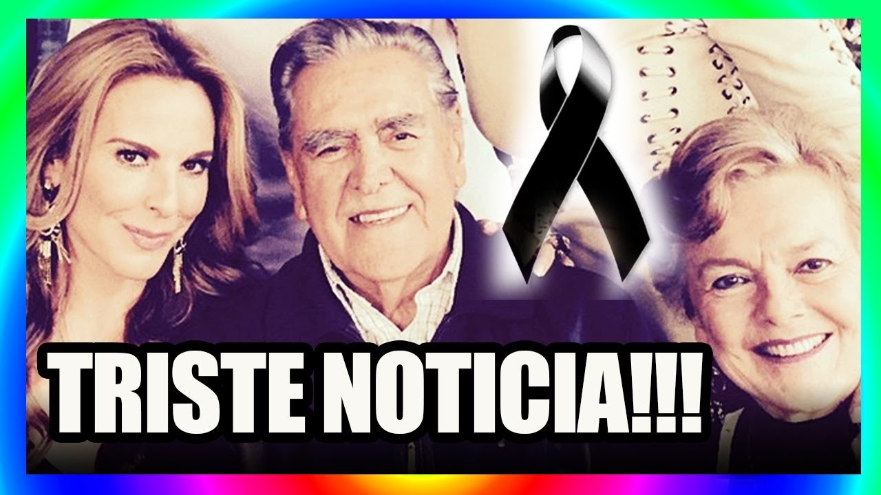Erick Del Castillo Se Encuentra De Luto Tras Recordar La Tragica Formar Que Perdio A Su Padre Hoy Youtube