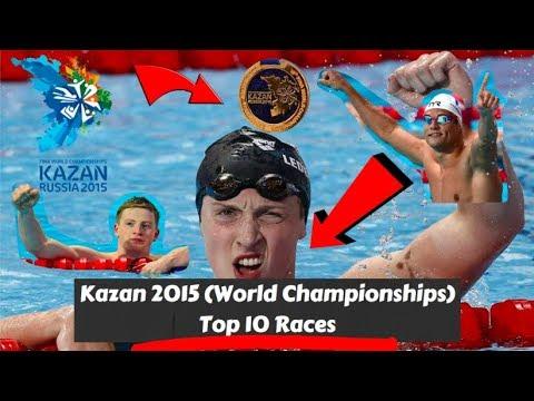 Kazan 2015 - Top 10 Swimming Races (World Championships)