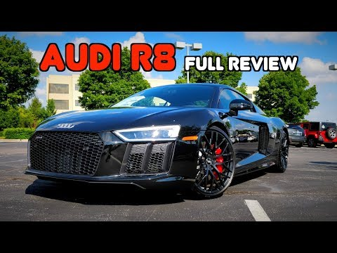 2018 Audi R8 V-10 RWS: FULL REVIEW + DRIVE | The Rear-Drive R8 Built for Purists!