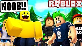 ROBLOX NOOB TROLLS Other ROBLOX YOUTUBERS in Flee the Facility! (BOONehtru)