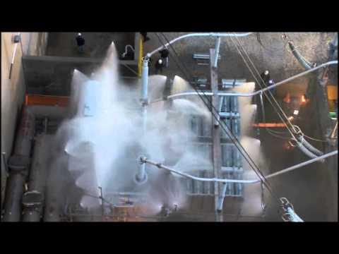 Transformer Deluge Test
