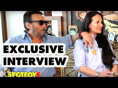 Exclusive Jackie Shroff Interview with wife Ayesha Shroff by