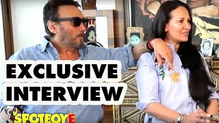 Exclusive Jackie Shroff Interview with wife Aye...