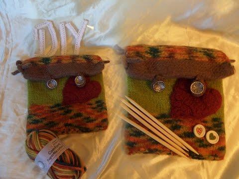 DIY: FILZ Universal Tasche SELBER MACHEN, für Hobby, Kosmetik,Multimedia,….