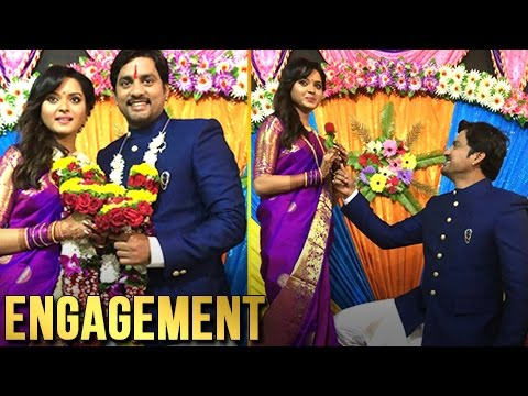 Exclusive : Sangram Salvi is Engaged to Khushboo Tawde | Marathi Actor - Devyani, Saraswati