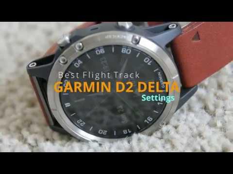Garmin D2 Delta Best Aviation Settings