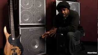 Victor Wooten playing and talking about the Hartke HyDrive 115 Bass Cabinet