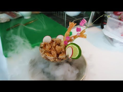 How to cook Pomelo Salad Recipe Thai by Alex Tan - Super Chef