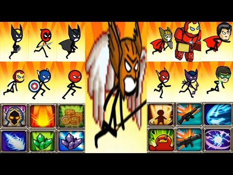 Hacked Hero Wars: Super Stickman Defence NEW UPDATE - All Heroes & All Skills Unlocked - AndroidGame