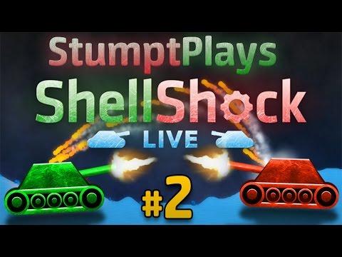 Shellshock Live - #2 - Tanks A Lot! (4 Player Gameplay)
