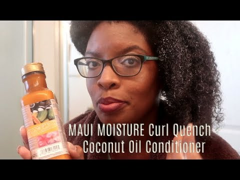 PRODUCT REVIEW | Maui Moisture Curl Quench + Coconut Oil Conditioner and Curl Smoothie