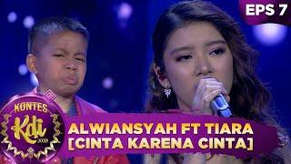 Download lagu Duet TERBAIK!!!  Tiara Andini ft Alwiansyah  [Cinta Karena Cinta] - Kontes KDI 2020 (14/9)