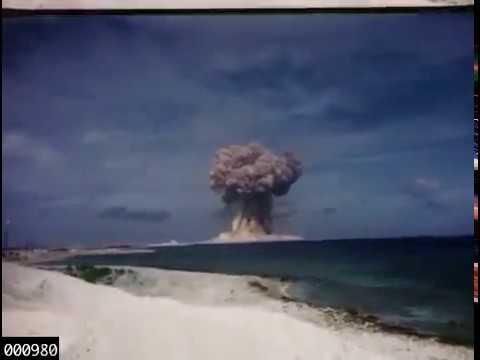 Video inedito bomba atomica che esplode