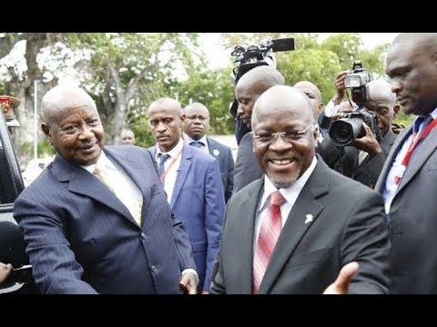 Ziara ya Rais Magufuli na Rais Museveni mpaka wa Mutukula