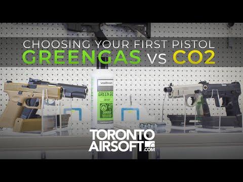Choosing Your First Gas Pistol: Green Gas Vs CO2 - TorontoAirsoft.com
