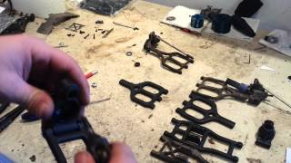 How to install RPM arms: Traxxas T-Maxx/E-Maxx