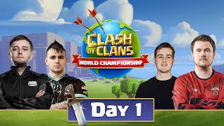 World Championship #1 Qualifier Day 1 - Clash Of Clans