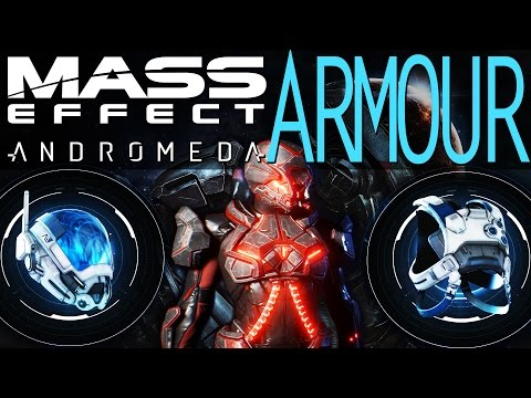 ARMOUR ANALYSIS & SHOWCASE IN MASS EFFECT ANDROMEDA ALL SETS