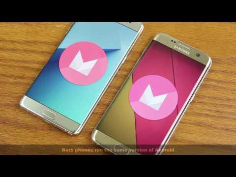 Samsung Galaxy Note 7 vs Samsung Galaxy S7 Edge Full Comparison
