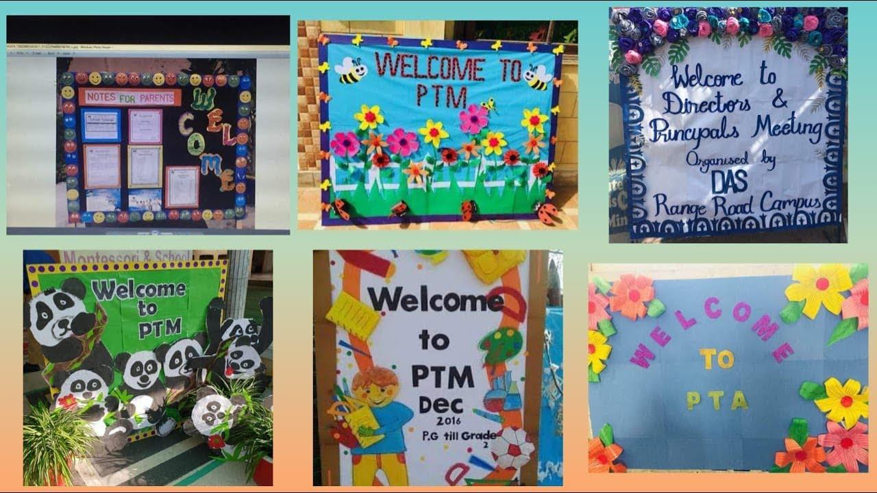 Ptm Display Board Bulletin Board For School Parents Teachers