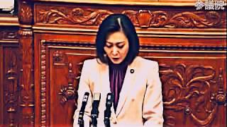 三原じゅん子『民主党は恥を知りなさい!!』民主党を痛烈批判!! 平成25年...