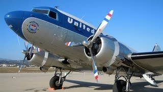 Clay Lacy Douglas DC-3 (C-47) United Airlines Mainliner O