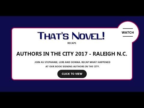 That's Novel - Authors in the City recap
