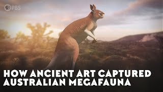 How Ancient Art Captured Australian Megafauna