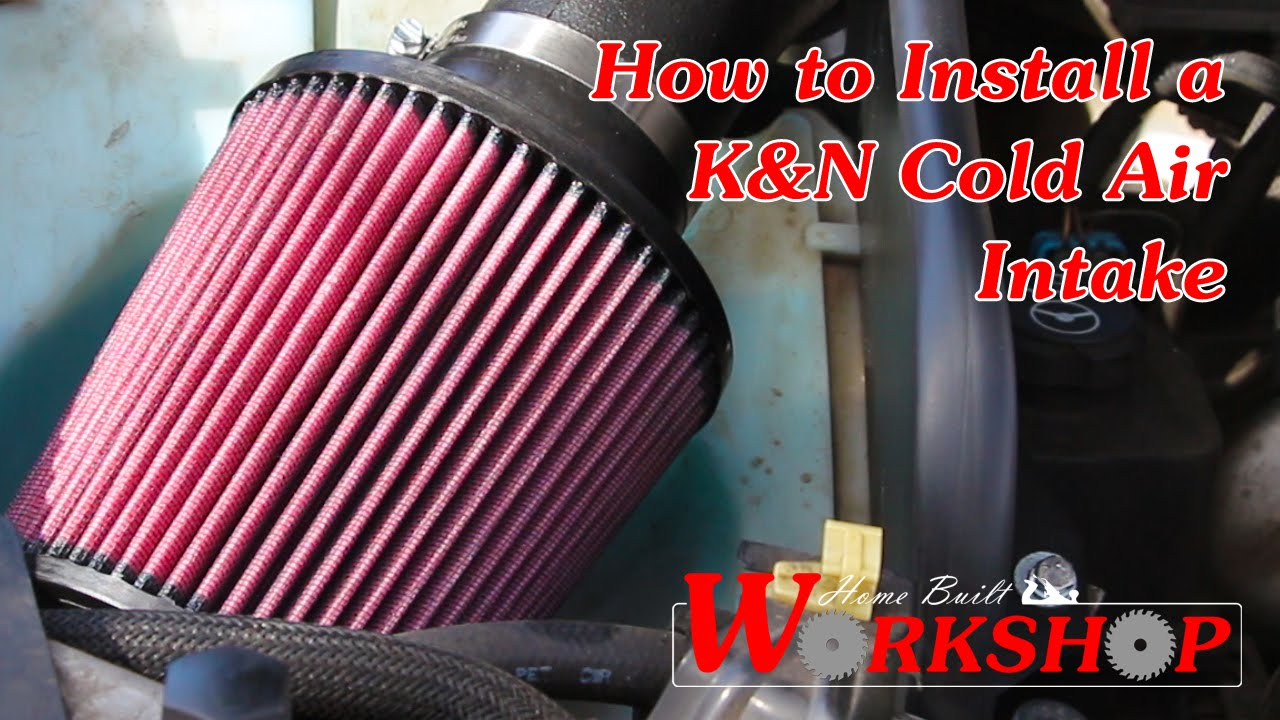 Chevy Colorado Springs >> 2007 Chevy Trailblazer Cold Air Intake installation (K&N ...
