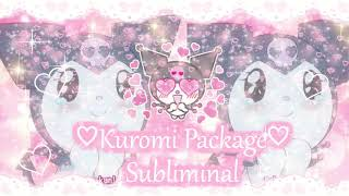 🌸✨☠🌸💕Kawaii Sanrio: Kuromi Package ❥Subliminal🌸✨☠🌸💕