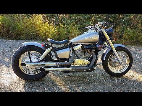 Cobra Drag Pipes Honda Shadow SOUND
